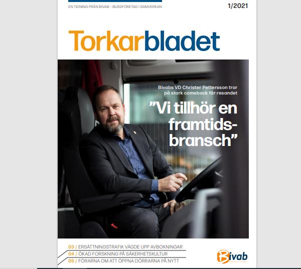 Vår nya digitala tidning Torkarbladet!